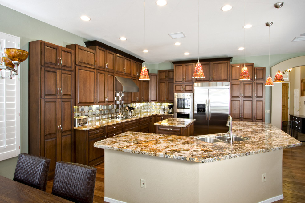 Kitchen Cabinets In Mission Viejo Oc Custom Painted Glazed Cabinets