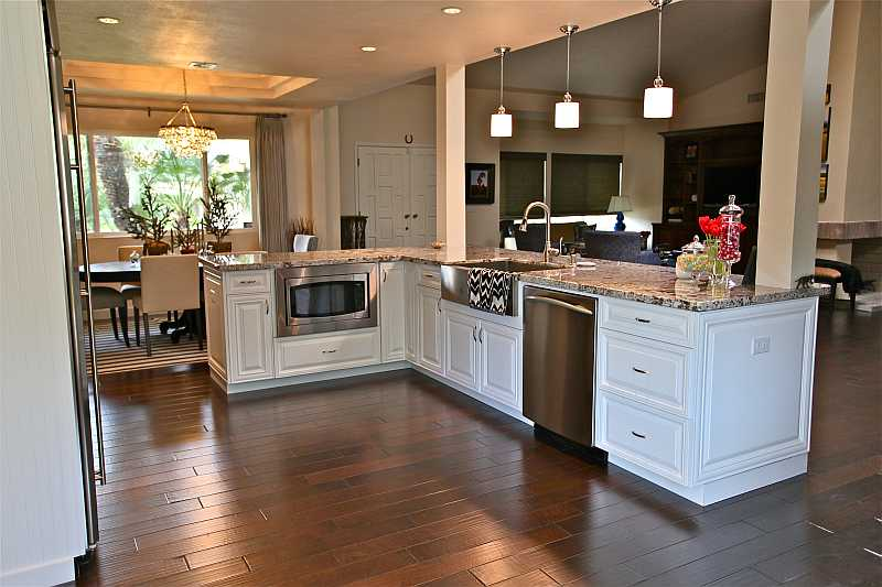 Transitional Kitchen White Cabinets Luxury Remodel In Orange County Ca By