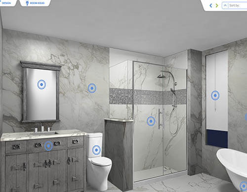Free bathroom visualizer small