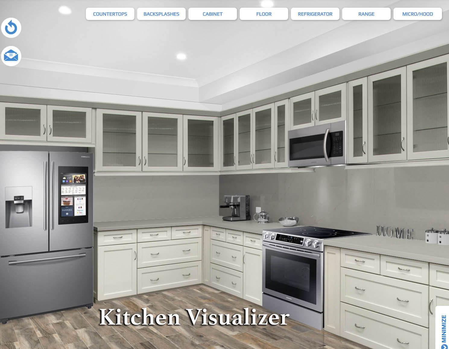 Free online kitchen visualizer